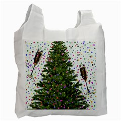 New Year S Eve New Year S Day Recycle Bag (two Side)