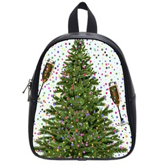 New Year S Eve New Year S Day School Bag (small)