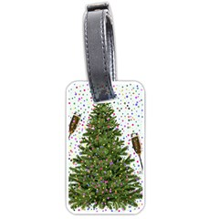 New Year S Eve New Year S Day Luggage Tags (one Side)