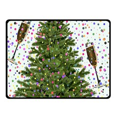 New Year S Eve New Year S Day Double Sided Fleece Blanket (small)