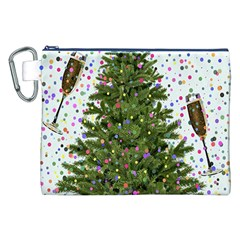 New Year S Eve New Year S Day Canvas Cosmetic Bag (xxl)