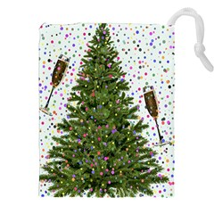 New Year S Eve New Year S Day Drawstring Pouches (xxl)
