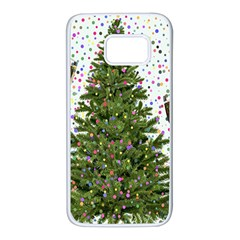 New Year S Eve New Year S Day Samsung Galaxy S7 White Seamless Case