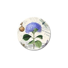 Vintage Shabby Chic Dragonflies Golf Ball Marker (10 Pack)