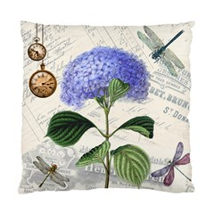 Vintage Shabby Chic Dragonflies Standard Cushion Case (one Side)