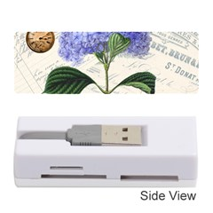 Vintage Shabby Chic Dragonflies Memory Card Reader (stick)