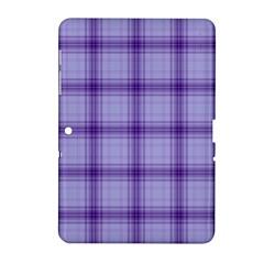 Purple Plaid Original Traditional Samsung Galaxy Tab 2 (10 1 ) P5100 Hardshell Case