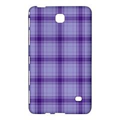 Purple Plaid Original Traditional Samsung Galaxy Tab 4 (8 ) Hardshell Case