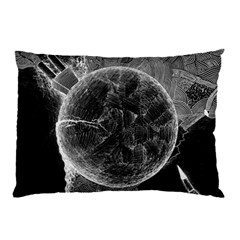 Space Universe Earth Rocket Pillow Case