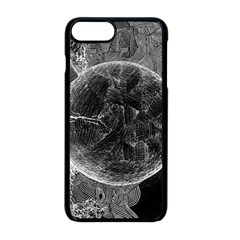 Space Universe Earth Rocket Apple Iphone 8 Plus Seamless Case (black)