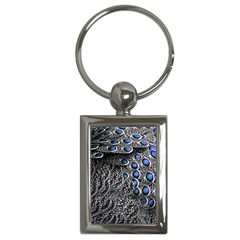 Feather Bird Bird Feather Nature Key Chains (rectangle)