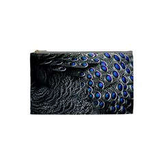 Feather Bird Bird Feather Nature Cosmetic Bag (small)