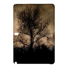 Tree Bushes Black Nature Landscape Samsung Galaxy Tab Pro 10 1 Hardshell Case