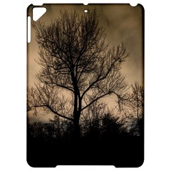 Tree Bushes Black Nature Landscape Apple Ipad Pro 9 7   Hardshell Case