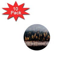 Trees Plants Nature Forests Lake 1  Mini Buttons (10 Pack)