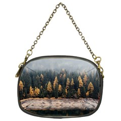 Trees Plants Nature Forests Lake Chain Purses (two Sides)