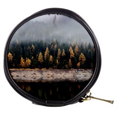Trees Plants Nature Forests Lake Mini Makeup Bags