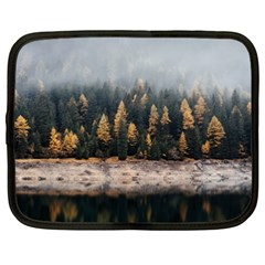 Trees Plants Nature Forests Lake Netbook Case (xxl)