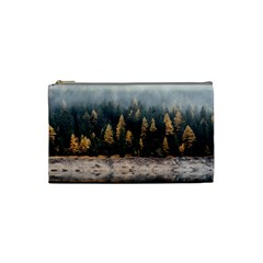 Trees Plants Nature Forests Lake Cosmetic Bag (small)