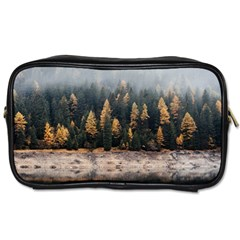 Trees Plants Nature Forests Lake Toiletries Bags
