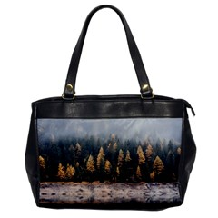 Trees Plants Nature Forests Lake Office Handbags