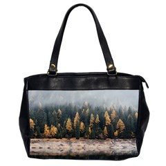 Trees Plants Nature Forests Lake Office Handbags (2 Sides)