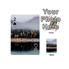 Trees Plants Nature Forests Lake Playing Cards 54 (mini)