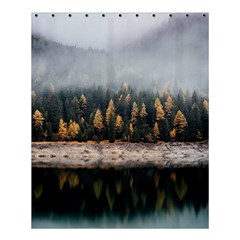 Trees Plants Nature Forests Lake Shower Curtain 60  X 72  (medium)