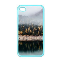 Trees Plants Nature Forests Lake Apple Iphone 4 Case (color)