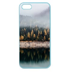 Trees Plants Nature Forests Lake Apple Seamless Iphone 5 Case (color)