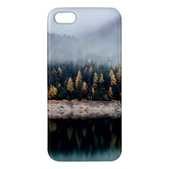 Trees Plants Nature Forests Lake Apple Iphone 5 Premium Hardshell Case