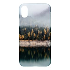 Trees Plants Nature Forests Lake Apple Iphone X Hardshell Case