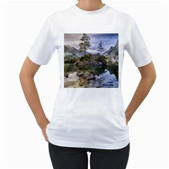 Hintersee Ramsau Berchtesgaden Women s T Shirt (white) (two Sided)