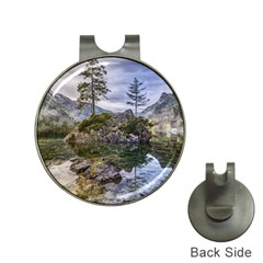 Hintersee Ramsau Berchtesgaden Hat Clips With Golf Markers