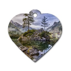Hintersee Ramsau Berchtesgaden Dog Tag Heart (two Sides)