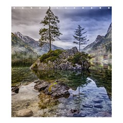 Hintersee Ramsau Berchtesgaden Shower Curtain 66  X 72  (large)