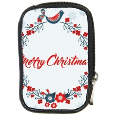 Merry Christmas Christmas Greeting Compact Camera Cases
