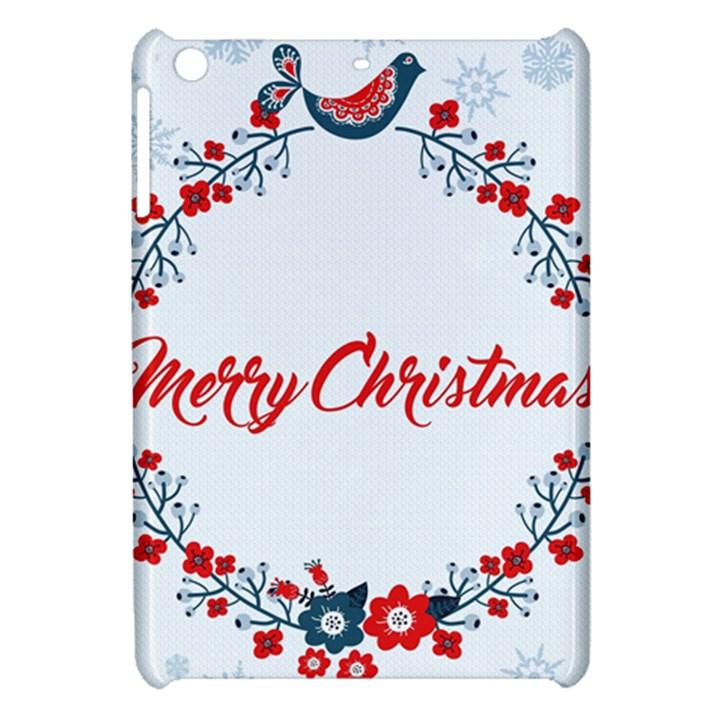 Merry Christmas Christmas Greeting Apple iPad Mini Hardshell Case