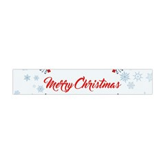 Merry Christmas Christmas Greeting Flano Scarf (mini)