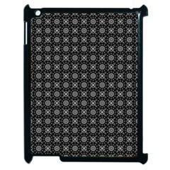 Kaleidoscope Seamless Pattern Apple Ipad 2 Case (black)