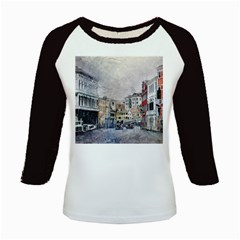 Venice Small Town Watercolor Kids Baseball Jerseys