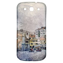Venice Small Town Watercolor Samsung Galaxy S3 S Iii Classic Hardshell Back Case