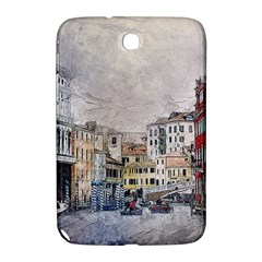Venice Small Town Watercolor Samsung Galaxy Note 8 0 N5100 Hardshell Case