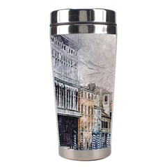 Venice Small Town Watercolor Stainless Steel Travel Tumblers