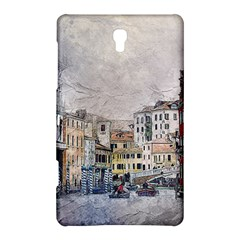 Venice Small Town Watercolor Samsung Galaxy Tab S (8 4 ) Hardshell Case