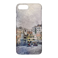 Venice Small Town Watercolor Apple Iphone 7 Plus Hardshell Case