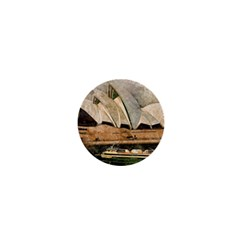 Sydney The Opera House Watercolor 1  Mini Magnets