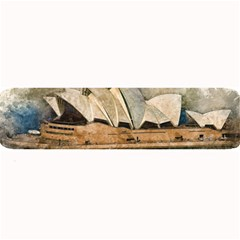 Sydney The Opera House Watercolor Large Bar Mats