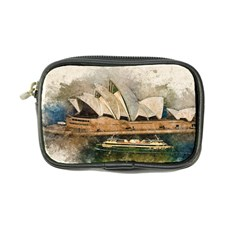 Sydney The Opera House Watercolor Coin Purse