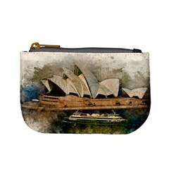 Sydney The Opera House Watercolor Mini Coin Purses